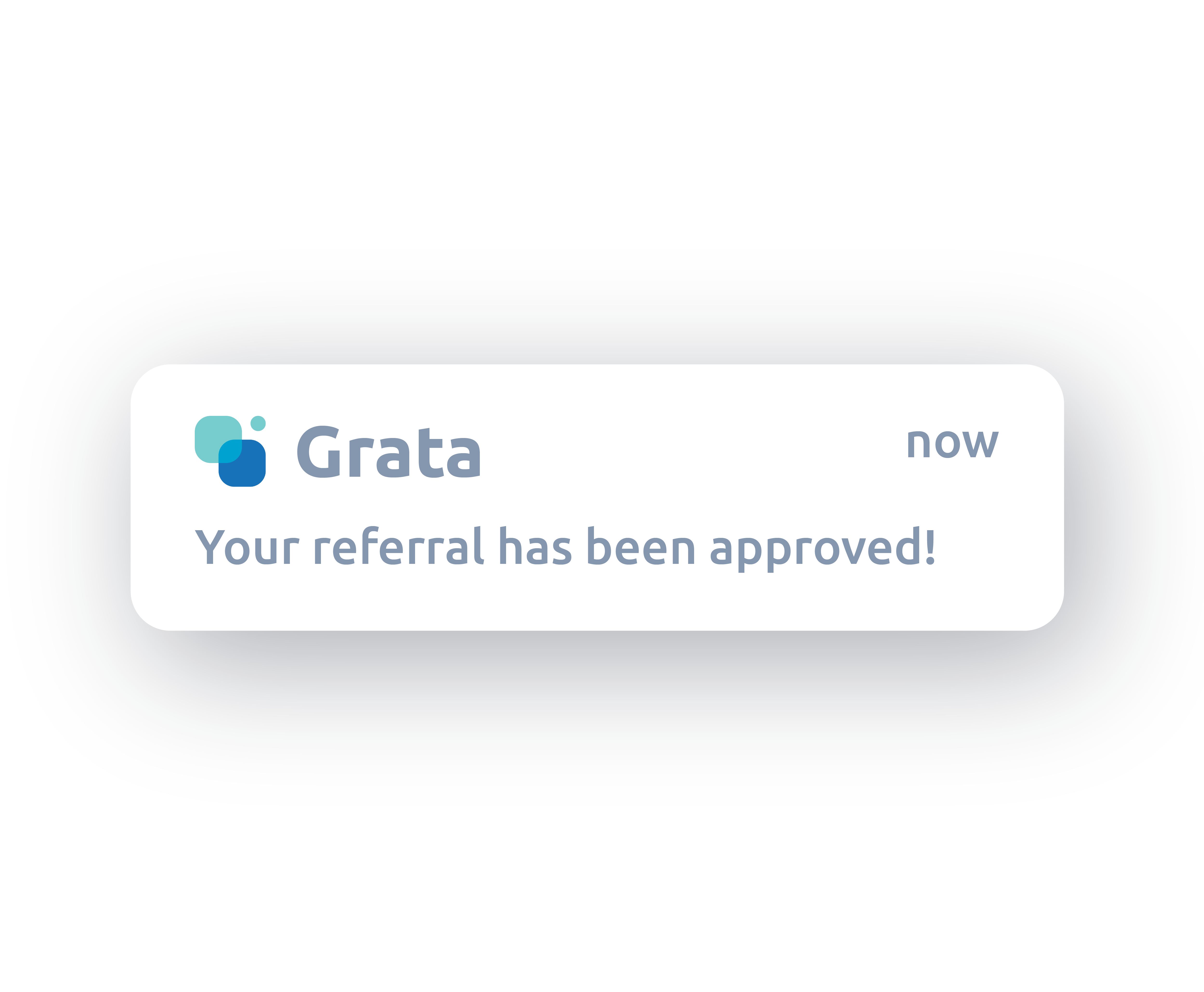 Referral notification